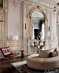 Parisian Living Room Decor Return To Form A Modern Paris Apartment Paris Design Elle