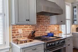 brick kitchen backsplash i am considering brick as a backsplash any pros or cons
