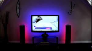 home theater backlighting 5m rgb tape kit for home cinema lighting youtube