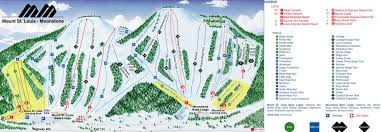 St Louis Map Usa by Mount St Louis Moonstone U2022 Ski Holiday U2022 Reviews U2022 Skiing
