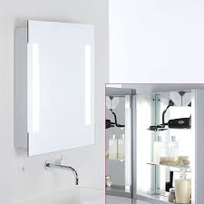 illuminated bathroom cabinets mirrors shaver socket mirror design ideas mirror illuminated bathroom cabinets mirrors