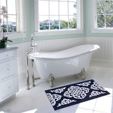 better homes and gardens indigo arabesque bath mat walmart com
