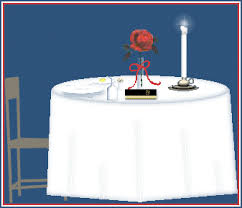 Fallen Comrade Table by Missing Man Table U0026 Honors Ceremony