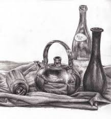 still life drawings by chua yi ting for drawing u0026 perspective