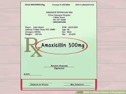 how to read a doctor u0027s prescription 10 steps with pictures