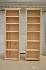 Basement Wooden Shelves Plans by Best 25 Bookcase Plans Ideas On Pinterest Build A Bookcase