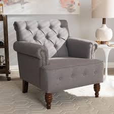 baxton studio chairs living room furniture the home depot
