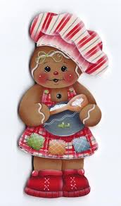 hp gingerbread baker fridge magnet gingerbread magnets and
