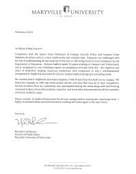 Victim Witness Coordinator Letter About Clery Act Training U0026 Campus Safety D Stafford