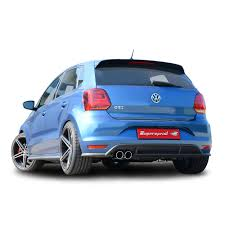 volkswagen golf gti 2015 modified performance sport exhaust for polo gti 2015 1 8 192hp vw polo 6c