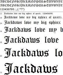 imagenes goticas letras galaxio com diseño de fuentes letras góticas