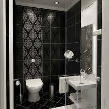 download black and white bathroom tile design ideas
