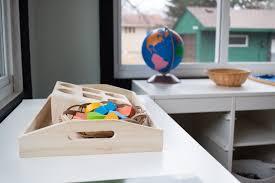 organizing your montessori play space
