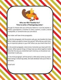 writing thanksgiving letters by spark creativity tpt