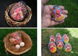 Homemade Easter Decorations by 6 Modern Easter Ideas Painting Rocks And Making Easter Decorations