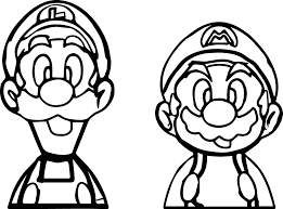 mario brothers coloring page free coloring pages on art coloring