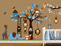 Nursery Monkey Wall Decals Nursery Monkey Wall Decals Ideas