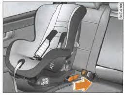 systeme isofix siege auto audi a4 avant notice d utilisation fixation d un siège pour