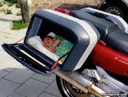 siège moto bébé moto avec siège bébé image mort de rire