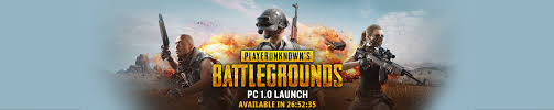 pubg pc pc 1 0 launch banner on steam front page pubattlegrounds