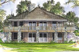 cottage style garage plans house plans walkout basement floor plans hillside house plans
