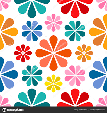 pretty wrapping paper floral pattern design babies and kids summer seamless