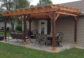 Wood Pergola Plans by Covered Pergola Plans 12x18 U0027 Outside Patio Wood Design