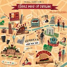 Map Of Dublin Ireland Dublin Restaurant Guide Visit Dublin
