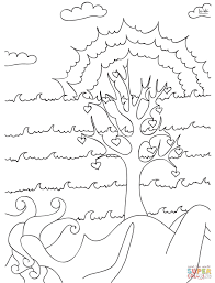 tree of life coloring page free printable coloring pages
