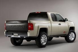 chevy concept truck chevrolet silverado zr2 concept