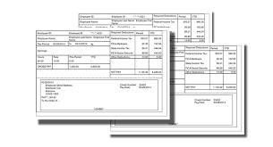 basic pay stub paycheck stub online