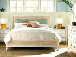 stanley furniture archipelago woven bed mine wood headboard