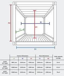 Interior Dimensions Of A Shipping Container Best 25 20 Container Dimensions Ideas On Pinterest Shipping