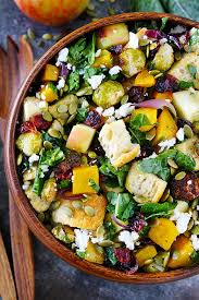 fall panzanella salad recipe two peas their pod
