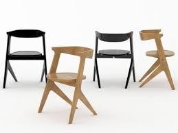 slab chair 3d model tom dixon