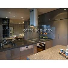 recipient inox cuisine tile mirror polished stainless steel mosaic credence cuisine