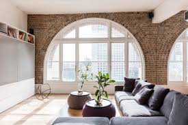 living rooms with exposed brick walls living rooms forties style