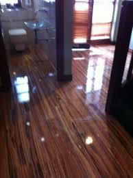 high gloss zebrano flooring floor