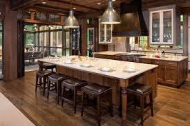 24 expensive rustic kitchens log home kitchens real log style