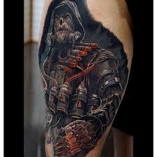 scarecrow art batman tattoos on instagram