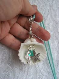 How To Make Jewelry From Sea Glass - 25 unique seashell necklace ideas on pinterest mermaid jewelry