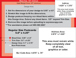 postcard specifications u0026 postcard postal regulations