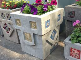 large concrete planters avalon rose craftworks