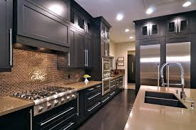 Staining Kitchen Cabinets White Staining Kitchen Cabinets Transitional With White