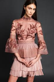 marine deleeuw for j mendel pre fall 2017 cocktail dresses