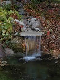 garden waterfalls steps on building a backyard pond with a