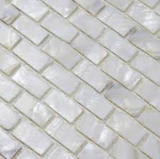 of pearl tile shower liner wall backsplash white