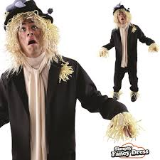 scarecrow halloween costume mens worzel gummidge scarecrow tv fancy dress costume ebay