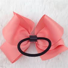 ribbon for hair xima 4inch ribbon hair bow with elastic band for hair accessories