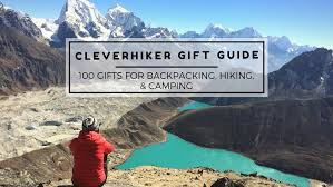 Colorado Best Gifts For Travelers images 100 gifts for backpacking hiking camping cleverhiker gift